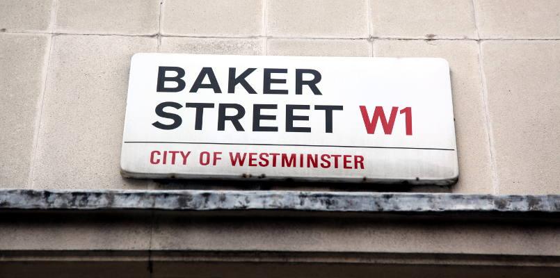 Baker Street Sign